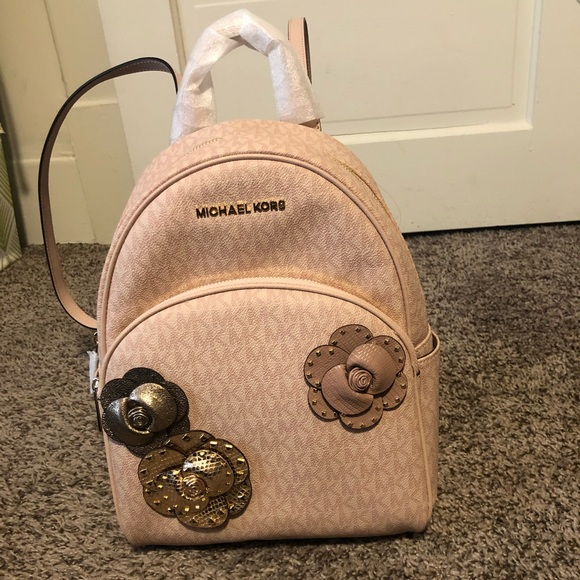 835ca808b64cb Michael Kors ABBEY BALLET pink back pack